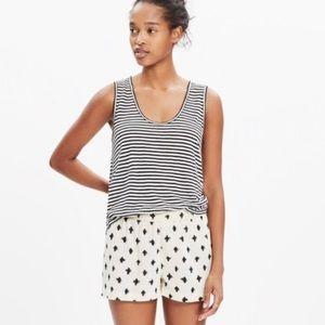Madewell Brush Stroke Cover-up Shorts